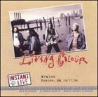 LIVING COLOUR Instant Live album cover