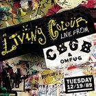 LIVING COLOUR Live From CBGB's album cover