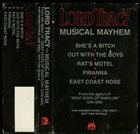LORD TRACY Musical Mayhem album cover