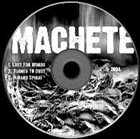 THE MACHETE Demo album cover
