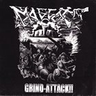 MAGGOTS A Headbanging Thrill With... / Grind-Attack!! album cover