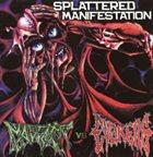 MAGGOTS Splattered Manifestation album cover