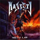 MAJESTY Metal Law album cover