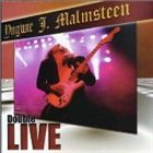 YNGWIE J. MALMSTEEN Double Live!! album cover