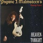 YNGWIE J. MALMSTEEN Heaven Tonight album cover
