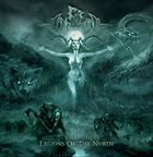 MÅNEGARM Legions Of The North album cover