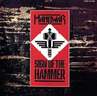 MANOWAR Sign of the Hammer Album Cover