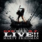 MARTY FRIEDMAN One Bad M.F. Live!! album cover