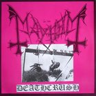MAYHEM — Deathcrush album cover
