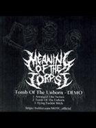 MEANING OF THE CORPSE Demo album cover