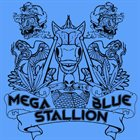 MEGA BLUE STALLION Lazer Eyez album cover