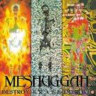 MESHUGGAH Destroy Erase Improve album cover