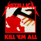 METALLICA Kill 'em All album cover