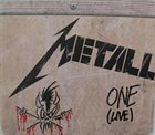 METALLICA — One (Live) album cover