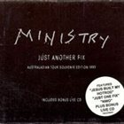 MINISTRY Just Another Fix album cover