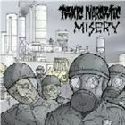 MISERY Misery / Toxic Narcotic album cover