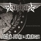 M.O.D. Busted, Broke & American album cover