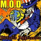M.O.D. Dictated Aggression album cover
