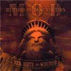 M.O.D. Red, White & Screwed album cover