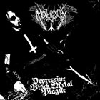 MOLOCH Depressive Black Metal Plague album cover