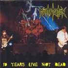MORTIFICATION 10 Years Live Not Dead album cover