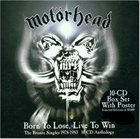 MOTÖRHEAD Born to Lose, Live to Win: The Bronze Singles 1978-1983 album cover