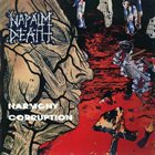 NAPALM DEATH Harmony Corruption album cover