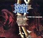 NAPALM DEATH Suffer the Children album cover