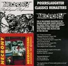 NECRONY Poserslaughter Classics Remasters album cover