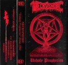 NECROPHOBIC Unholy Prophecies album cover