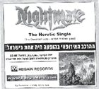 NIGHTMARE The Heretic album cover