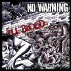 NO WARNING Ill Blood album cover