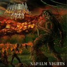 NOCTURNAL BREED Napalm Nights album cover