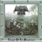 NOCTURNAL BREED Triumph of the Blasphemer album cover