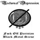 NOCTURNAL DEPRESSION Fuck Off Parisian Black Metal Scene album cover