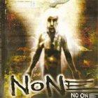 NONE No One album cover