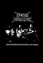 NUCLEAR DEVASTATION Amsterdam Metalpunks On Crack album cover