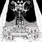 NUCLEAR DEVASTATION Nuclear Order album cover