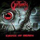 OBITUARY Cause of Death album cover