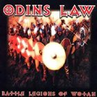 ODIN'S LAW Battle Legions of Wotan album cover