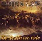 ODIN'S LAW To Death We Ride album cover