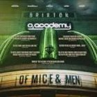 OF MICE AND MEN Live At Brixton album cover