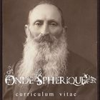 ONDE SPHÉRIQUE Curriculum Vitae album cover