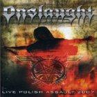 ONSLAUGHT Live Polish Assault 2007 album cover