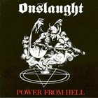 ONSLAUGHT Power From Hell album cover