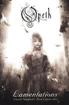 OPETH — Lamentations, Live At Shepherd's Bush Empire, 2003 album cover