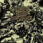 ORGASM GRIND DISRUPTION Detest album cover