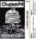 OVERDRIVE A Grave Mistake album cover