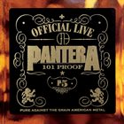 PANTERA Official Live: 101 Proof album cover