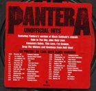 PANTERA Unofficial Hits album cover